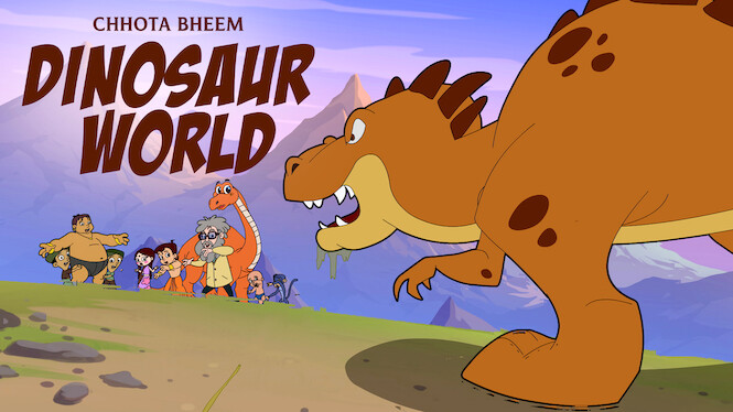 Chhota Bheem - Dinosaur World on Netflix USA