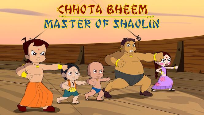 Chhota Bheem: Master of Shaolin on Netflix USA