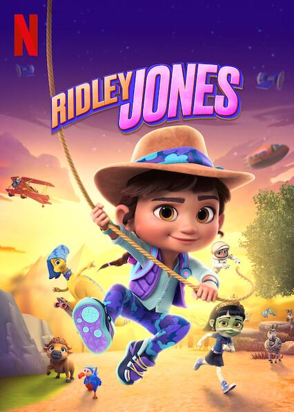 Ridley Jones on Netflix USA