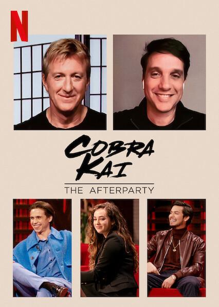 Cobra Kai - The Afterparty on Netflix USA