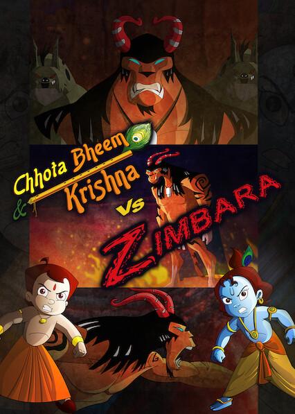 Chhota Bheem aur Krishna vs Zimbara on Netflix USA