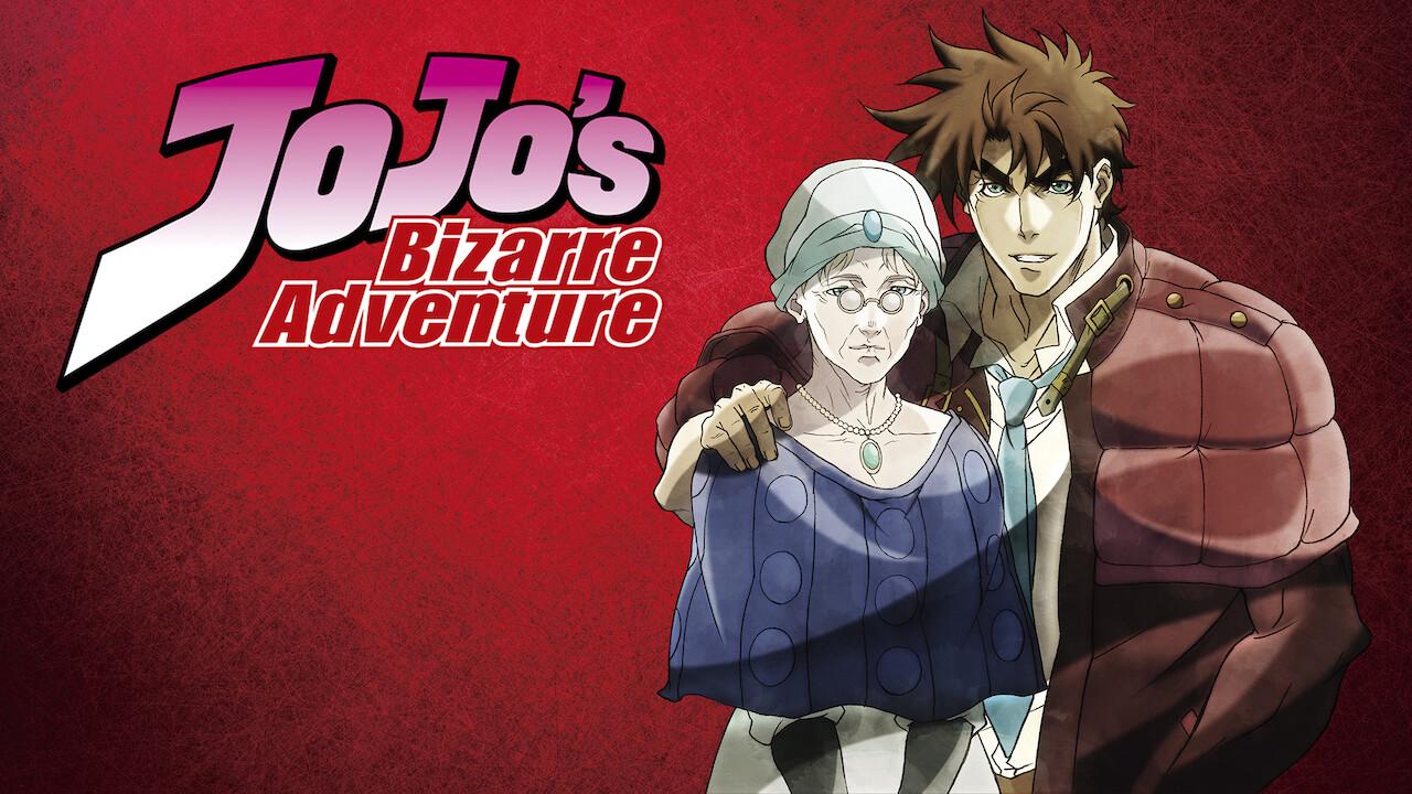 JoJo's Bizarre Adventure on Netflix USA
