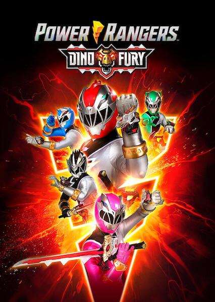 Power Rangers Dino Fury on Netflix USA